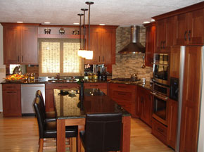 Custom Kitchen Cabinetry  by East Oberlin Cabinets